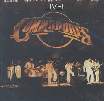 LIVE BY COMMODORES (CD)